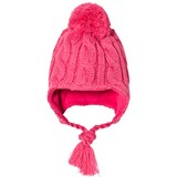 Ticket To Heaven Pink Bobble Hat