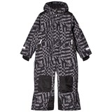Ticket To Heaven Grey Pattern Ski Overall