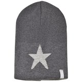 Ticket To Heaven Grey Knit Reversible Hat