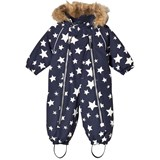 Ticket To Heaven Grey Stars Detachable Hood Parachute Baggie Snowsuit