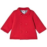 Petit Bateau Red Fleece Coat