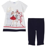 Mayoral Navy Best Friends Tunic and Leggings Set