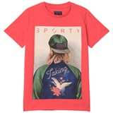 Mayoral Red Boy Graphic Print Tee