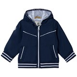 Timberland Kids Navy Water Repellent Hooded Windbreaker