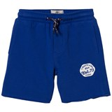 Timberland Kids Royal Blue Branded Sweat Shorts