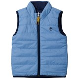 Timberland Kids Blue Reversible into Navy Gilet