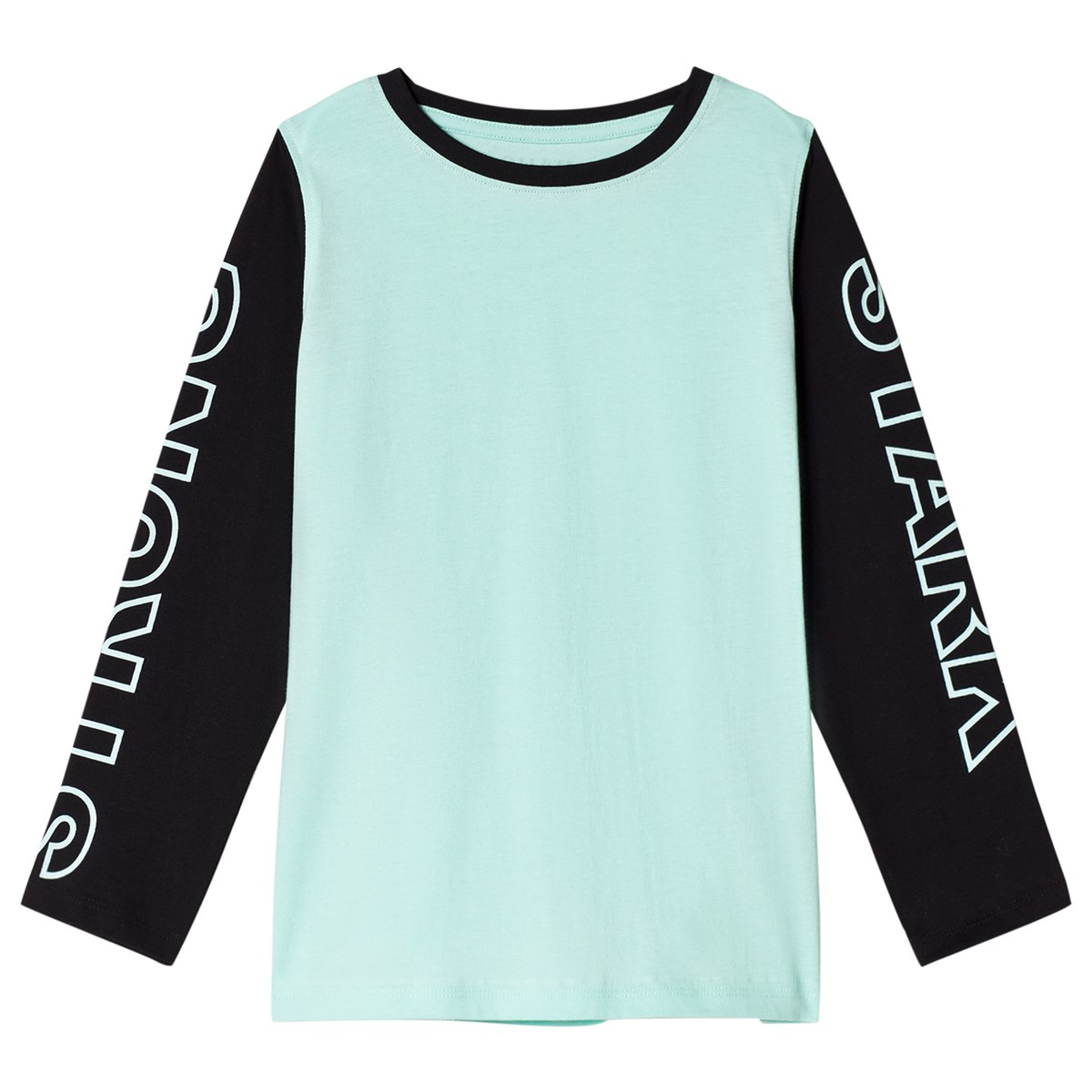 The BRAND Black And Turquoise Strong T-Shirt