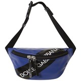 Dolce & Gabbana Blue Tape Logo Waist Bag