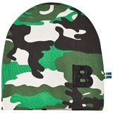The BRAND Green Camo Print Beanie Hat