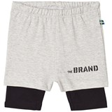 The BRAND Grey and Black Shorts