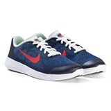 Nike Navy Red and White Nike Free Running Shoes