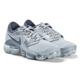 Nike Grey and Silver Nike Air Vapor Max Running Shoes