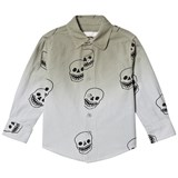 Stella McCartney Kids Grey Skull Print Samuel Shirt