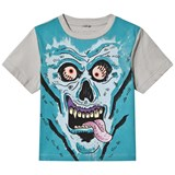 Stella McCartney Kids Monster Face Arrow Print Tee