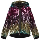 Guess Multi Sequin Hooded Jumper