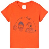 Carrément Beau Orange Sailor Print Tee