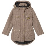 Barbour Taupe International Absorber Quilt Jacket