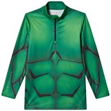 Spyder Green Hulk Marvel T-Neck 1/4 Zip Mid Layer