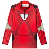 Spyder Iron Man Marvel T-Neck 1/4 Zip Mid Layer