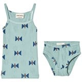 Bobo Choses Butterfly Set T-Shirt And Brief Beryl Green