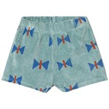 Bobo Choses Beryl Green Butterfly Terry Shorts