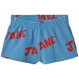 Bobo Choses Heritage Blue Jane Running Shorts