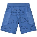 Bobo Choses Turkish Sea Clouds Pockets Bermuda Shorts