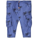 Bobo Choses Turkish Sea Siesta Cargo Linen Pants