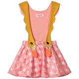 Bang Bang Copenhagen Pink Swan Bird Girl Dress