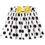 Bang Bang Copenhagen White and Black Chilli Dot Skirt