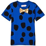 Bang Bang Copenhagen Blue and Black Spot Leon T-Shirt