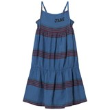 Bobo Choses Turkish Sea Striped Linen Princess Dress