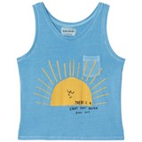Bobo Choses Heritage Blue Sun Tank Top