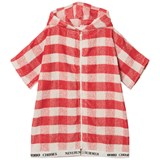 Bobo Choses Spice Route Red Vichy Poncho