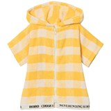 Bobo Choses Banana Yellow Baby Vichy Poncho