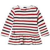 Ralph Lauren Red and Cream Stripe Polo with PP
