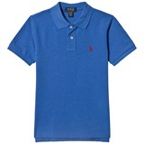 Ralph Lauren Royal Blue Pique Polo with PP