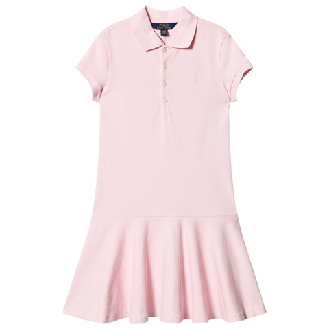 Ralph Lauren Pink Pique Polo Dress with PP