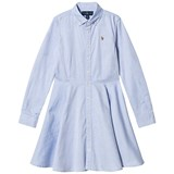 Ralph Lauren Blue Oxford Shirt Dress with PP