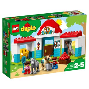 LEGO DUPLO 10868 LEGO® DUPLO® Farm Pony Stable One Size