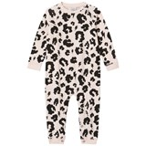 Scamp & Dude Blush Pink Leopard Print Baby Grow