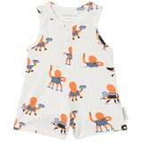 Tinycottons Brick Octopus Print Relaxed One-Piece