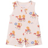 Tinycottons Brick Octopus Print One-Piece