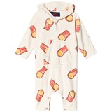 The Animals Observatory Raw White Halleys Seagull Baby Suit