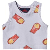 The Animals Observatory Lavender Halleys Frog Baby Tank Top