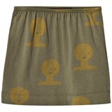 The Animals Observatory Military Green Tao Kitten Skirt
