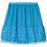 The Animals Observatory Electric Blue Rabbit Kids Skirt