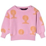The Animals Observatory Fuchsia Tao Busts Bear Baby Sweatshirt
