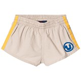 The Animals Observatory Beige Bird Spider Kids Shorts