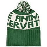 The Animals Observatory Green Grass Squirrel Kids Beanie Hat